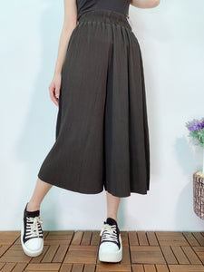 1904048 VI pleated wide pants