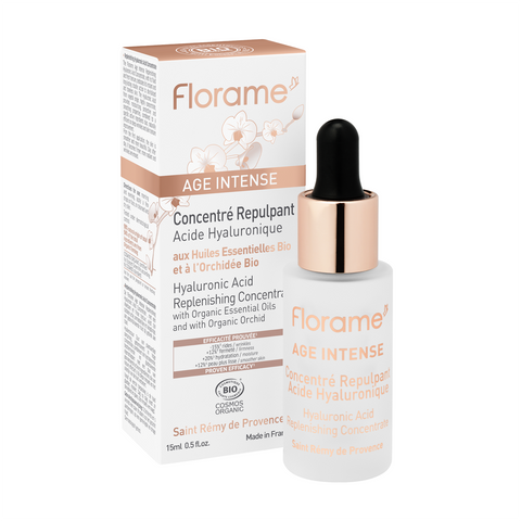 FL017 FLORAME Hyaluronic Acid Replenishing Concentrate 有機蘭花透明質酸修復精華 [15ml]