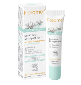 FL036 FLORAME Hydratation Eye Reviving Gel Cream 有機睡蓮極緻保濕眼部啫喱 [15ml]