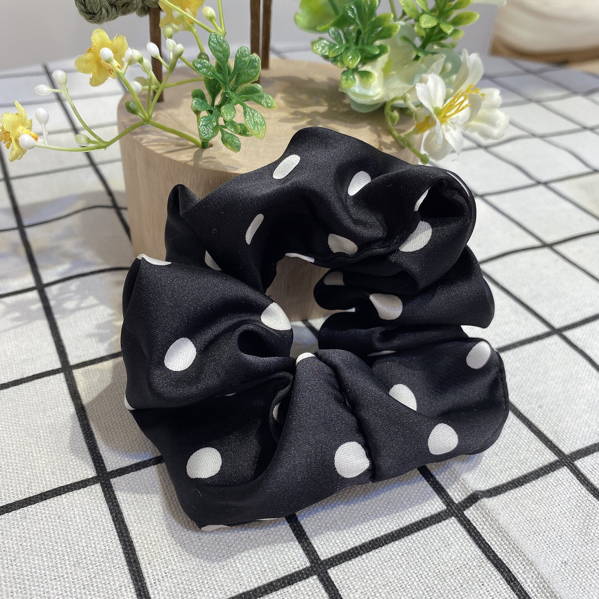 1405HA046 Dots Pony Elastic