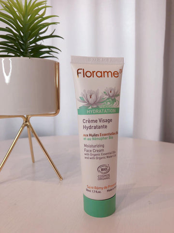 FL008 FLORAME Hydratation Moisturizing Face Cream 有機睡蓮極緻保濕面霜 [50ml]