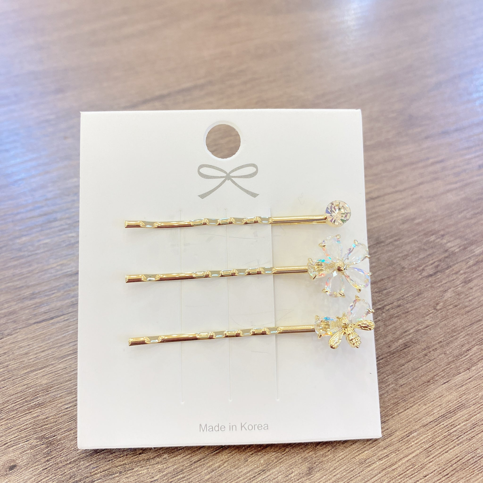 1406SE005 KR Spring Garden Hair Pin Set