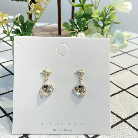 NNPA003 Starry Dangling Earrings