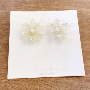 1401PA026  KR Mist of Early Dawn Earrings