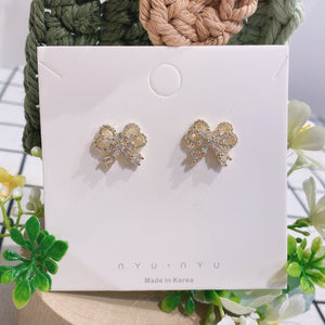 NNPA005 NN Hearty Ribbon Earrings