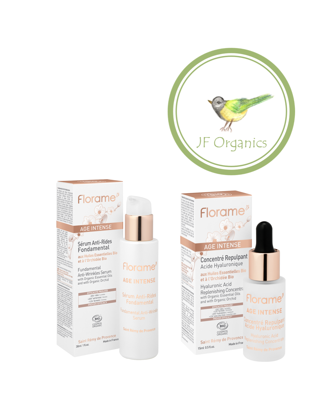 FLS08 FLORAME Anti-Wrinkle & Replenishing Set (1718) 有機蘭花幹細胞修復抗皺套裝