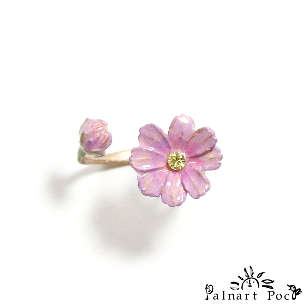 1004RN165 Palnart Poc - Cosmos in Bloom Ring