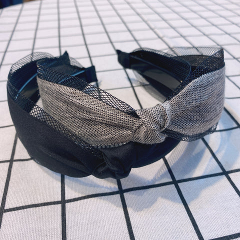 MLHA032 ML Linen Knot Headband