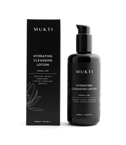 MU017 MUKTI Hydrating Cleansing Lotion 有機保濕潔面乳 [200ml]