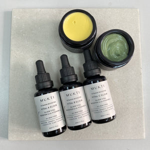 MUS006 MUKTI Hydrating Vitamin Boosters Collection 維他命精華套裝