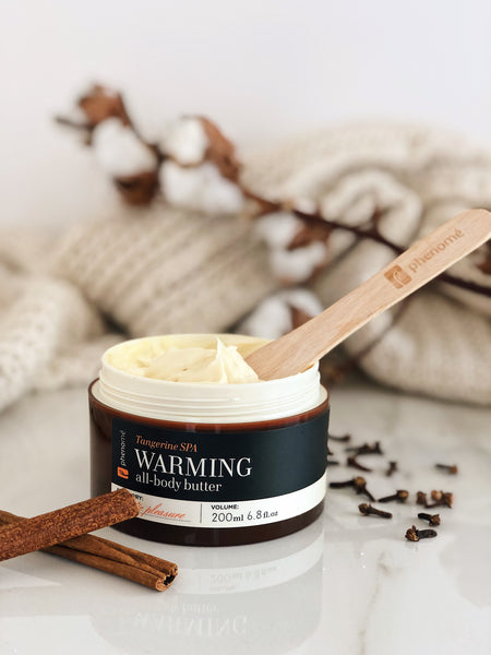 BPH019  Phenome WARMING all body butter  柑橘生薑柔暖愉悦身体乳霜 200ml