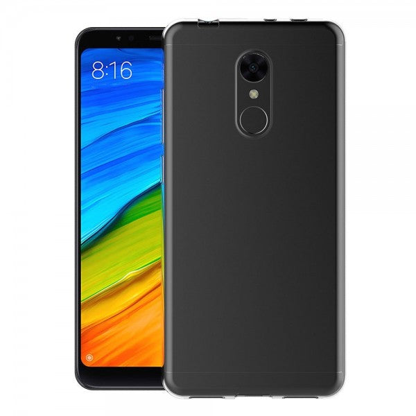 Case cover for Xiaomi Redmi 5 Transparent Silicone