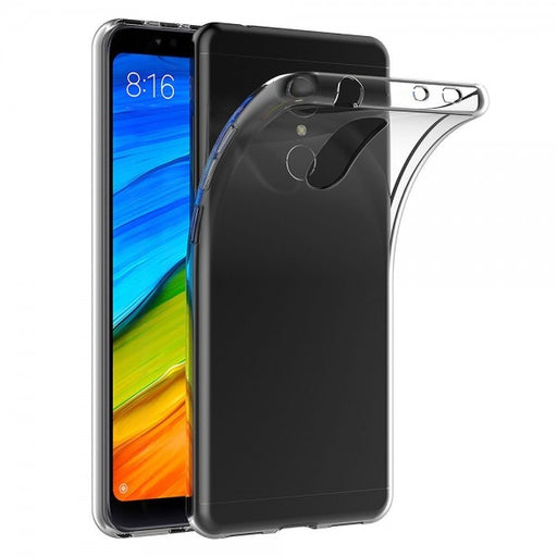 Case cover for Xiaomi Redmi 5 Plus Transparent Silicone