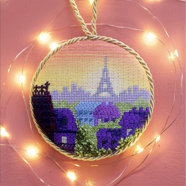 Rooftops of Paris Ornament