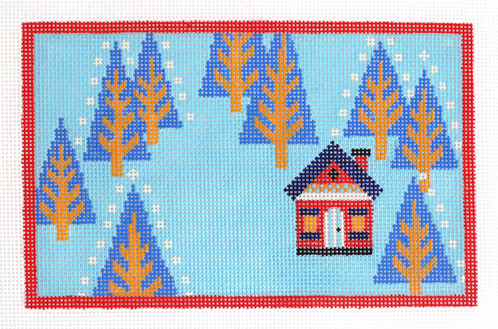 Woodland Home Winter