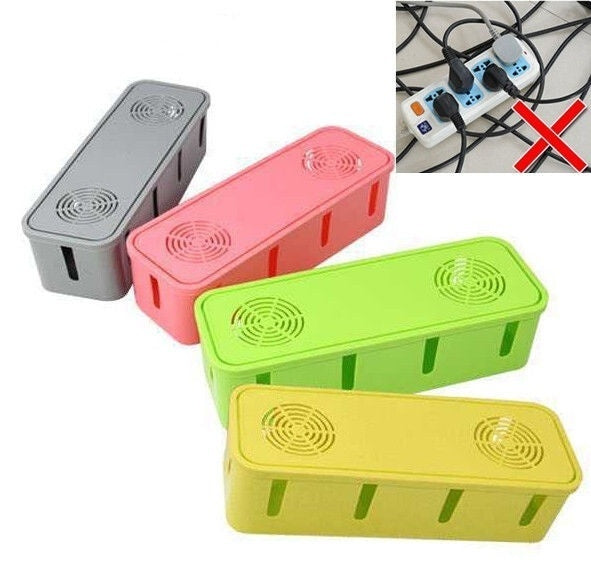 Home Baby Children Safety Socket Wire Cable Storage