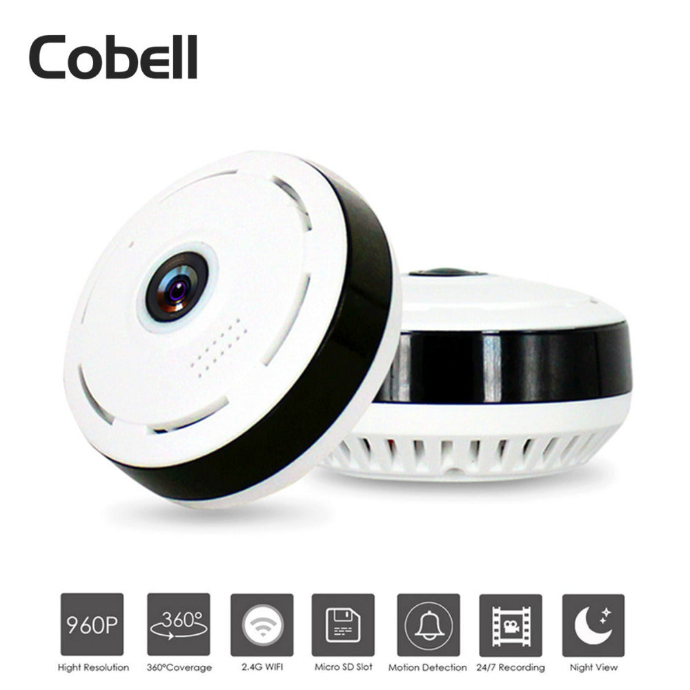 Cobell HD 960P Wifi IP Camera Home Security Wireless 360 Degree