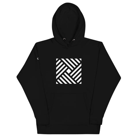 STRIPED SQUARE | Hoodie