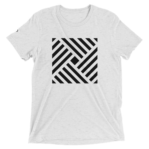 STRIPED SQUARE | T-SHIRT