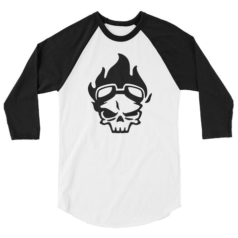 SKULL IN FIRE | Sleeve Shirt