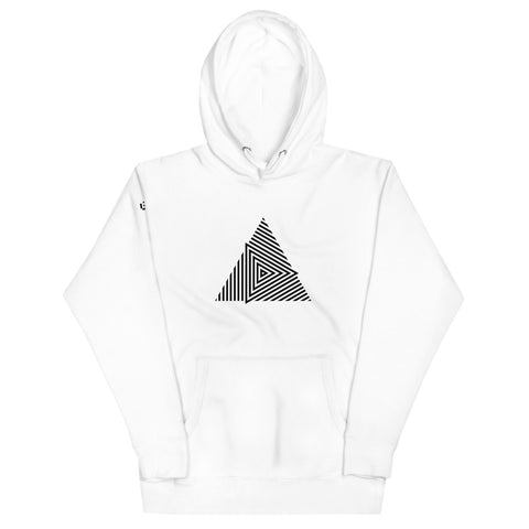 STRIPED TRIANGLE | Hoodie