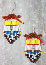 Load image into Gallery viewer, Toy Story Jessie-Inspired Beaded Earrings