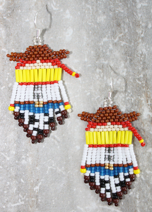 Toy Story Jessie Beaded Earrings