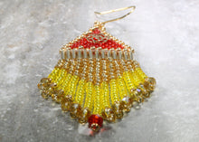 Load image into Gallery viewer, Princess Belle-Inspired Beaded Earrings