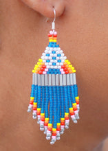 Load image into Gallery viewer, Retro EPCOT-Inspired Beaded Earrings