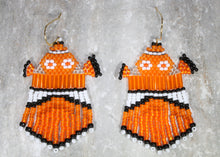 Load image into Gallery viewer, Finding Nemo-Inspired Beaded Earrings