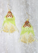 Load image into Gallery viewer, Princess Tiana-Inspired Beaded Earrings