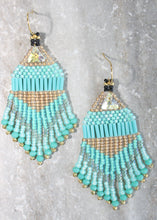 Load image into Gallery viewer, Princess Jasmine-Inspired Beaded Earrings