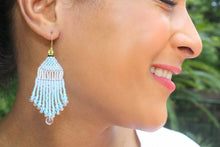 Load image into Gallery viewer, Princess Cinderella-Inspired Beaded Earrings