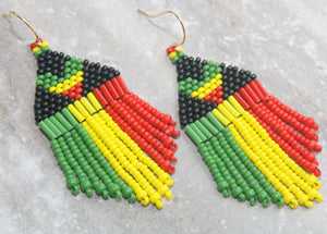 Rasta Heart with Black