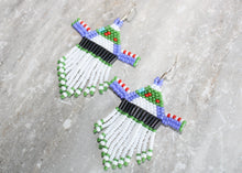Load image into Gallery viewer, Toy Story Buzz Lightyear-Inspired Beaded Earrings