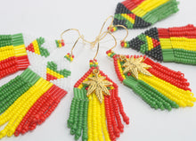 Load image into Gallery viewer, Rasta with Cannabis Pendant