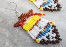 Load image into Gallery viewer, Toy Story Jessie Beaded Earrings