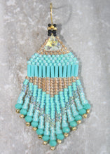 Load image into Gallery viewer, Princess Jasmine Beaded Earrings