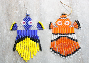 Finding Dory-Inspired Beaded Earrings