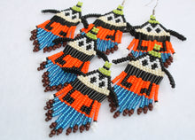 Load image into Gallery viewer, Goofy-Inspired Beaded Earrings