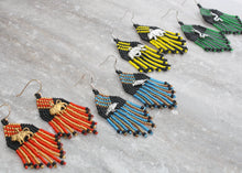 Load image into Gallery viewer, Harry Potter Hufflepuff-Inspired Earrings