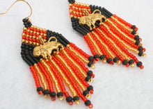 Load image into Gallery viewer, Harry Potter Gryffindor-Inspired Earrings