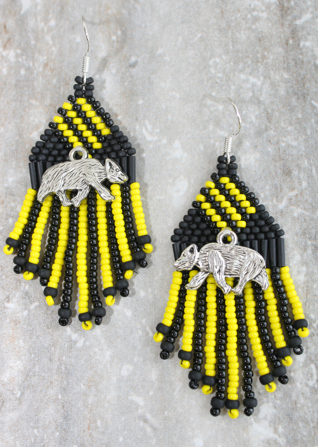 Harry Potter Hufflepuff-Inspired Earrings