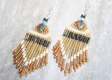 Load image into Gallery viewer, Pocahontas-Inspired Beaded Earrings