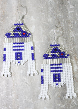 Load image into Gallery viewer, R2-D2 Inspired Beaded Earrings