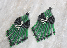 Load image into Gallery viewer, Harry Potter Slytherin-Inspired Earrings