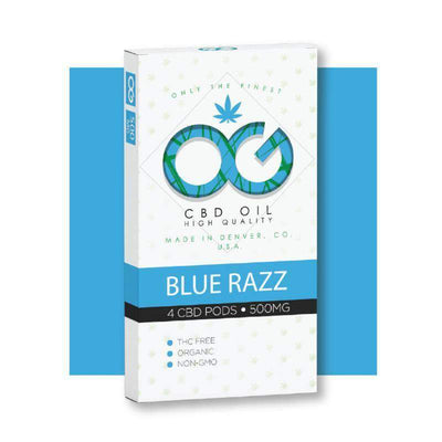 BLUERAZZ PODS (PACK OF 4)