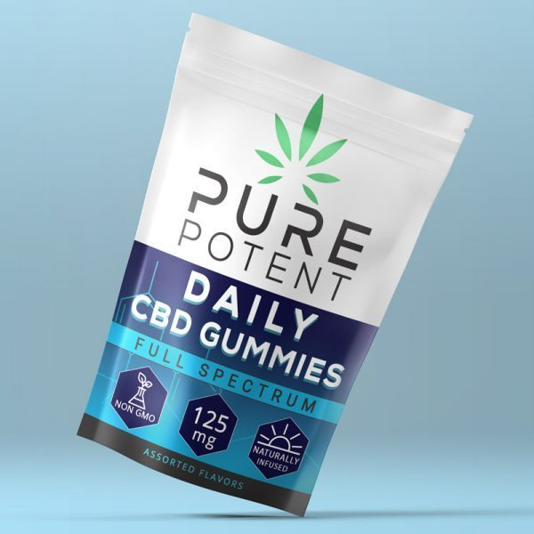 CBD Daily Gummies -125MG 5 Count Pack