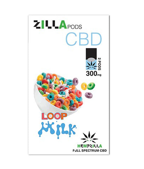 300mg CBD Juul Compatible Pods 2-Pack – Loop Milk
