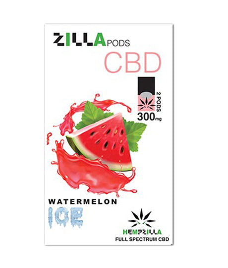 300mg CBD Juul Compatible Pods 2-Pack – Watermelon Ice